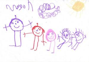 Sa vorbim despre desenul copiilor intre 3 si 4 ani