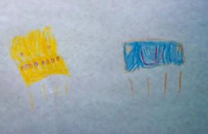 Desen copil 4-5 ani