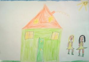 Desen fetita 6 ani