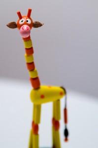 Din lumea copiilor: Girafa cea lunga